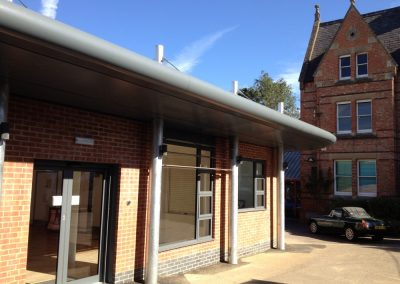 FRANK WISE SCHOOL – Oxon: Main Hall & Changing Rooms